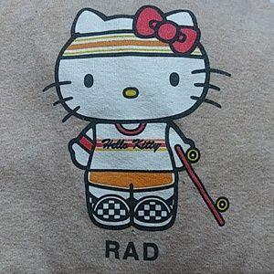 Rad Hello Kitty Mid Sleeve Shirt